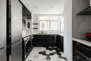130平混搭风格厨房装修效果图