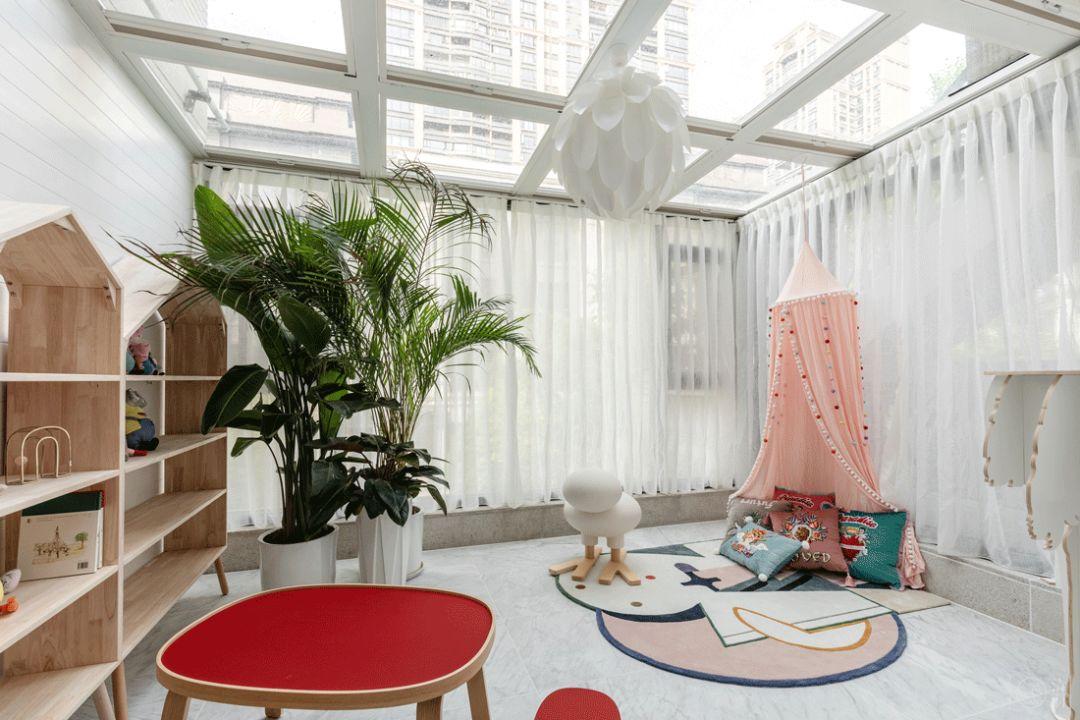 混搭风格别墅儿童娱乐室装修效果图