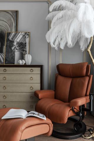 混搭风格别墅装修休闲椅设计