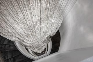 混搭风格别墅装修水晶灯设计