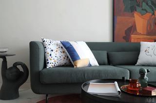 67平混搭一居室装修沙发抱枕搭配图