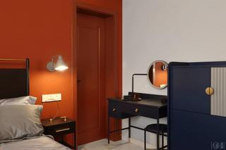 67平混搭一居室装修梳妆台设计