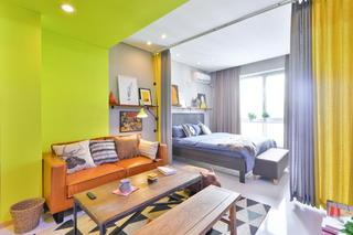 小户型两居室客厅装修效果图