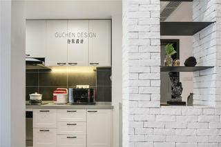 复式北欧风两居厨房装修效果图