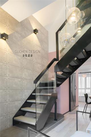 复式北欧风两居楼梯装修效果图