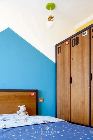 50平小户型两居装修儿童房衣柜设计图