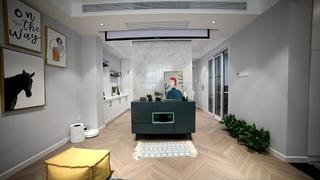 77平米两居室客厅装修效果图