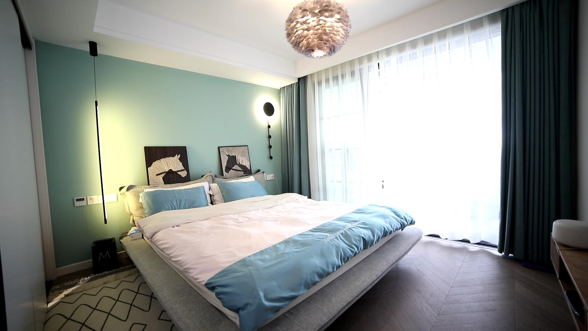 77平米两居卧室装修效果图