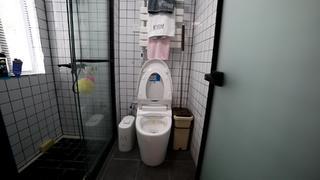 77平米两居卫生间装修效果图