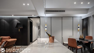 大户型现代简约餐厅装修效果图