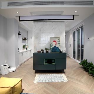 77平米两居室装修效果图