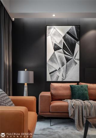 大户型现代简约装修沙发设计图