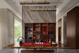 现代风别墅茶室装修效果图
