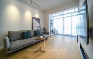 86平米三居室客厅装修效果图