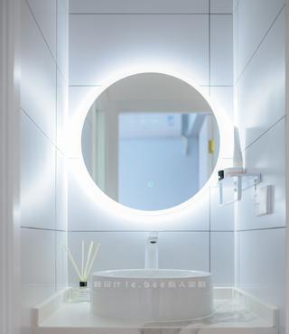 86平米三居室洗手台装修效果图
