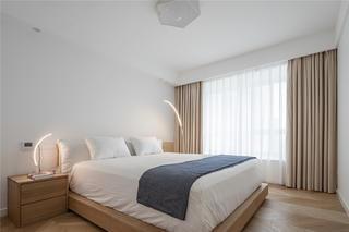 现代极简风四居卧室装修效果图