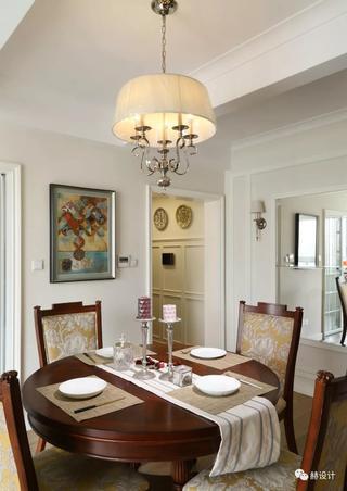 美式风格三居餐厅装修效果图