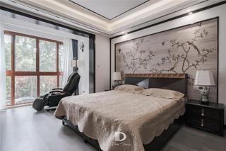 145㎡中式混搭风卧室装修效果图