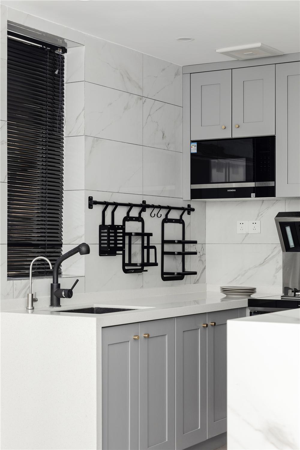 简美风格三居厨房装修效果图