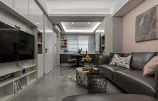 70平米二居室客厅装修效果图
