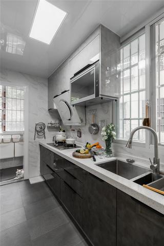 70平米二居室厨房装修效果图