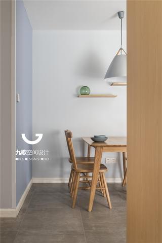114㎡北欧风格装修餐桌椅设计图