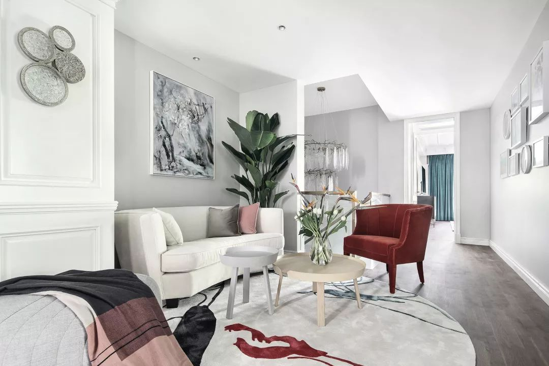 优雅轻奢别墅家庭室装修效果图
