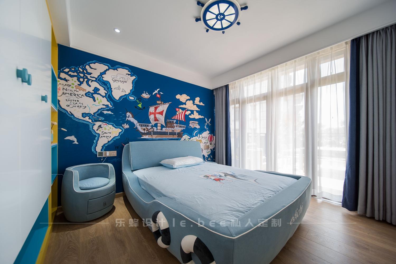 简约现代风别墅儿童房装修效果图