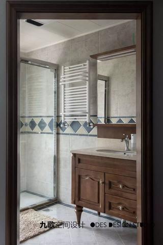 古典美式风格卫生间装修效果图