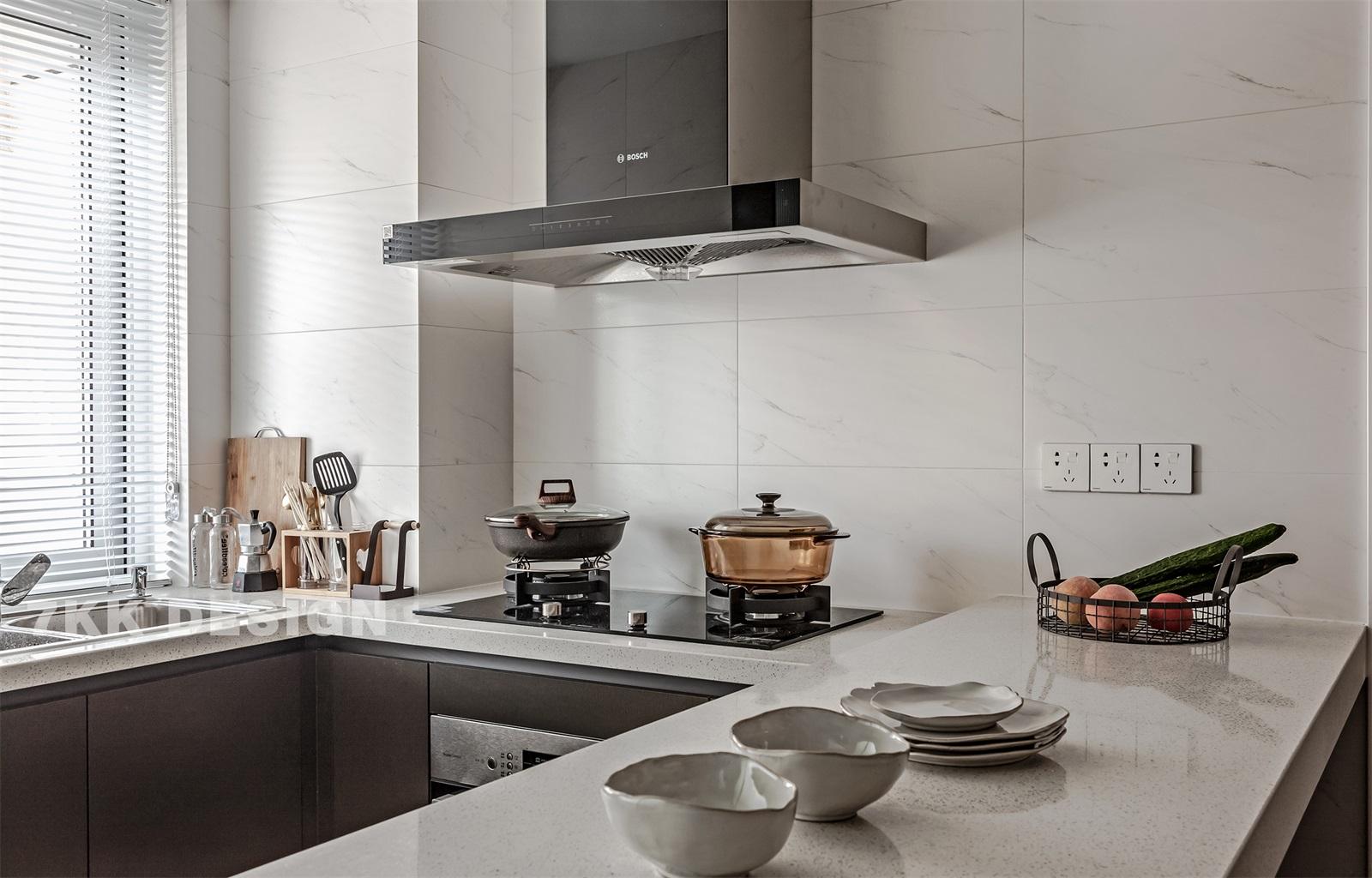 简约现代两居厨房装修效果图