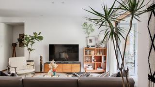 200㎡自然简约风电视墙装修效果图