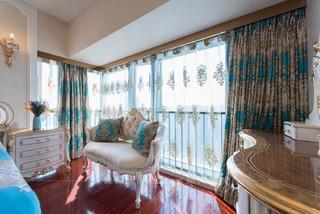 大户型欧式风格装修卧室窗帘设计