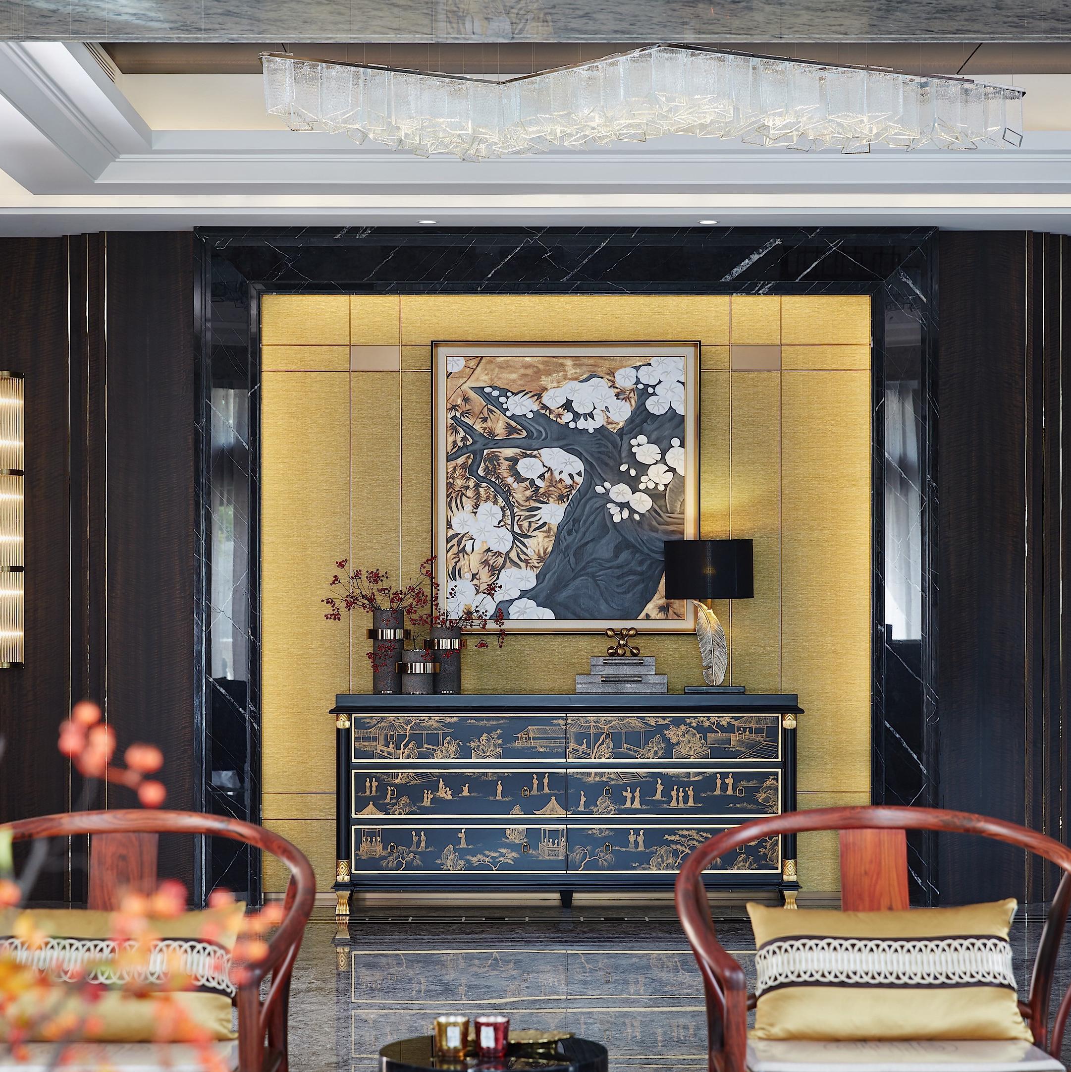 奢华新中式别墅装修效果图