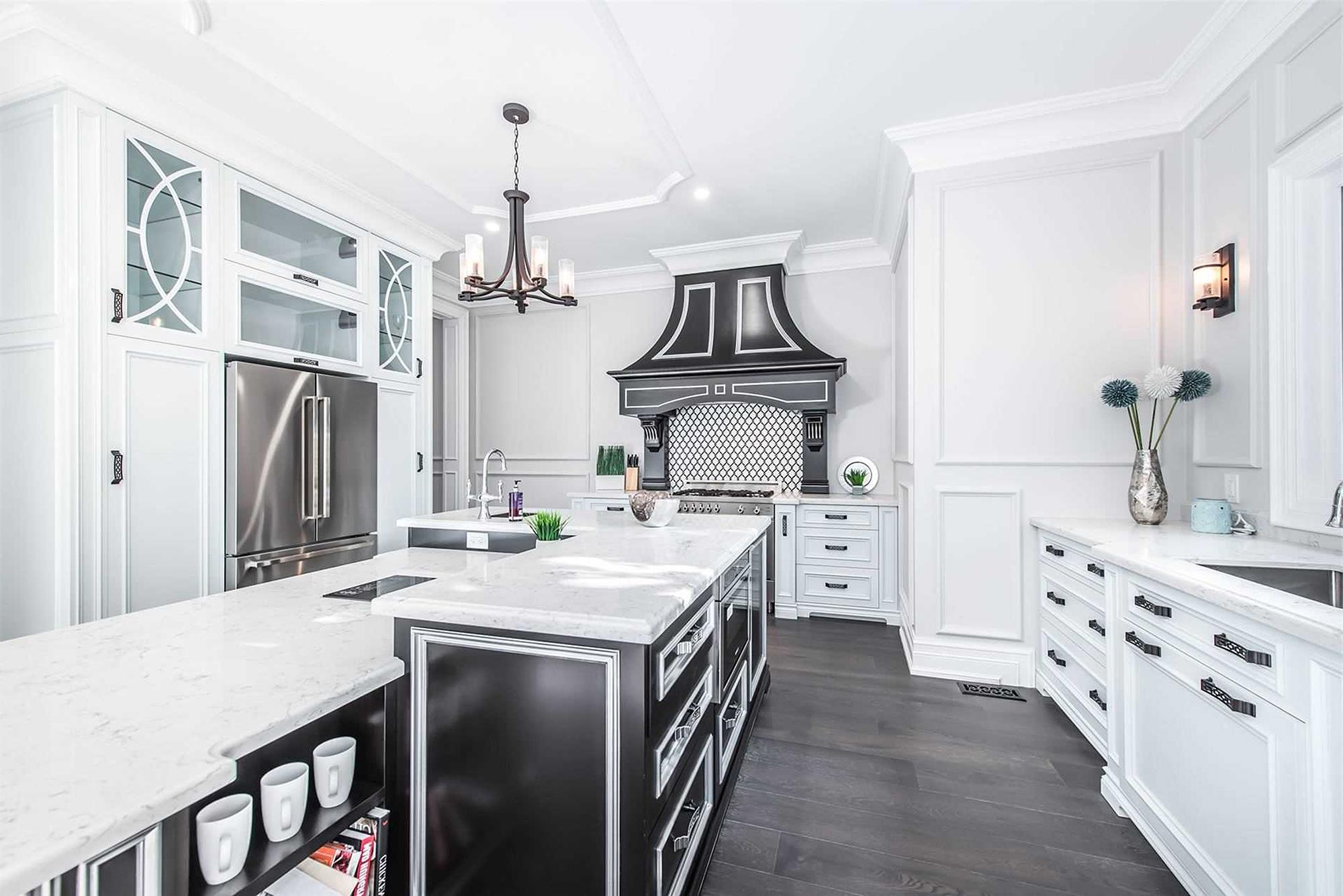 简欧风格别墅厨房装修效果图