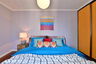 60平一居室公寓卧室装修效果图