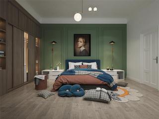北欧风格卧室装修设计效果图