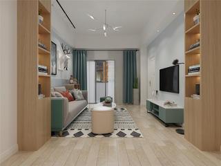 北欧风格客厅装修设计效果图