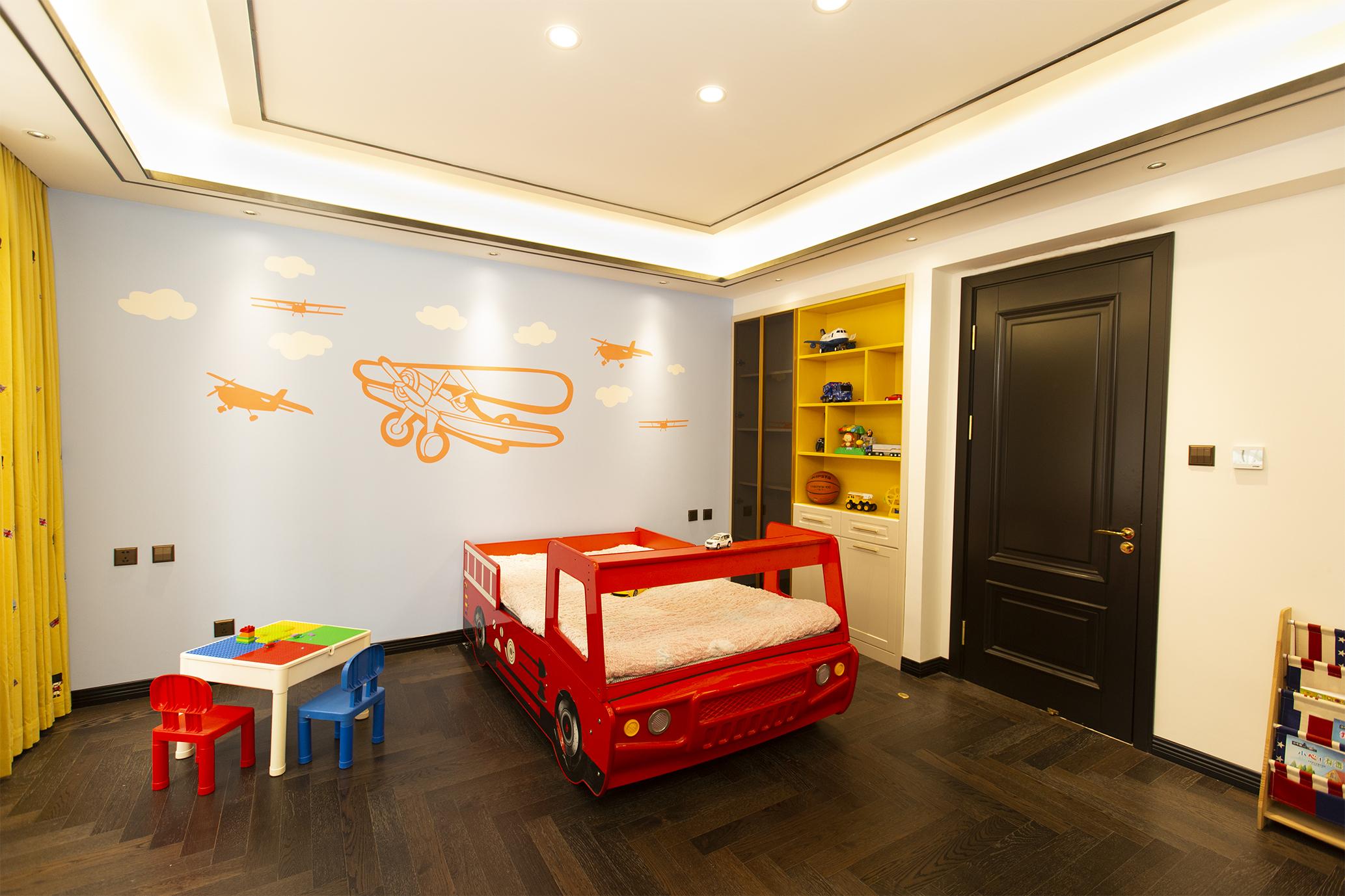 现代简约儿童房装修效果图