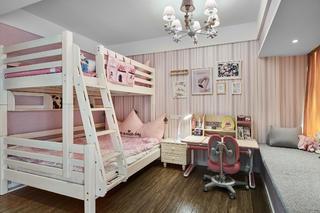 粉色调儿童房装修注册送300元现金老虎机图