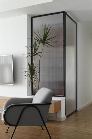 107㎡北欧风二居装修沙发椅设计