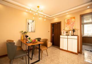 74平米两居室餐厅装修效果图
