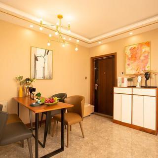 74平米两居室装修效果图
