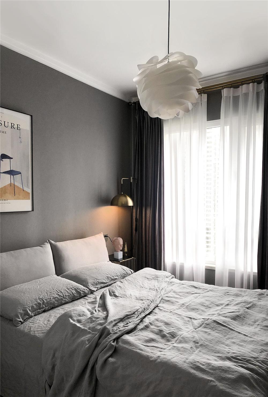 87平米北欧风格卧室装修效果图