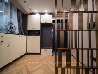 现代简约三居室玄关每日首存送20