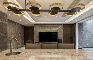 后现代风格别墅地下室装修效果图