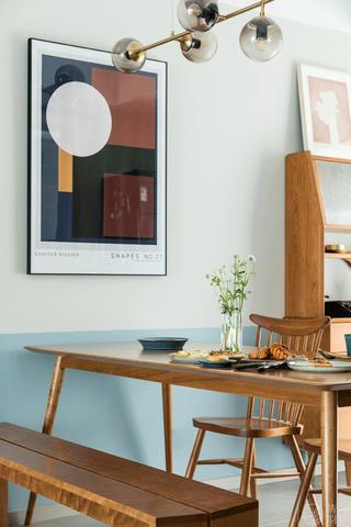 148㎡北欧风格餐厅装修效果图