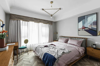 148㎡北欧风格卧室装修效果图