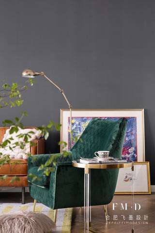 北欧混搭三居室装修沙发椅设计