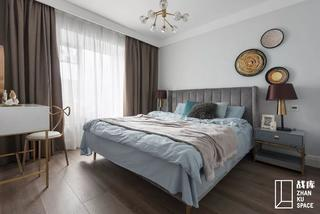 80平米三居卧室装修效果图