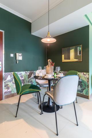 60㎡绿色两居室餐厅国国内清清草原免费视频